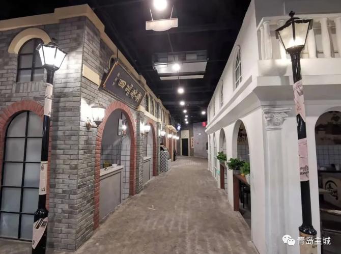 """闲置十年 这个与青岛火车站贯通的地下空间打造青版""""文和友"""""""