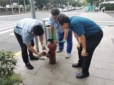 市区9113具市政消火栓都出水吗?青岛组织开展市政消火栓运行检查