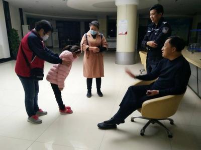 青岛7岁女孩练琵琶被邻居投诉心存阴影 ,民警一番开导重露笑容