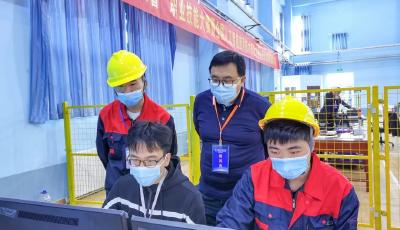 全实操!青岛市技师学院包揽人工智能应用技术技能两赛项师生组全部冠军!