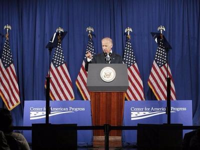 美国民主党总统候选人乔·拜登及其妻子新冠测试结果阴性