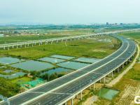与高铁并驾齐驱,新机场高速航拍图来了!