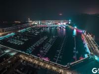 夜美浮山湾,冬日打卡沿海最靓城市灯光秀