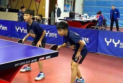 乒乓小将总动员,市乒乓球锦标赛落幕