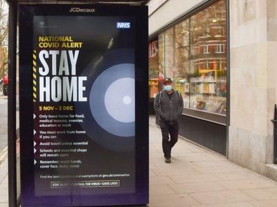 英国:全国范围内从14日起将自我隔离周期缩短为10天