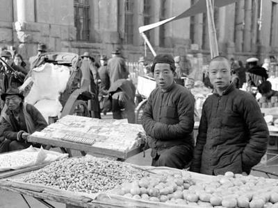 1948年的市场三路,记忆深处的叫卖声