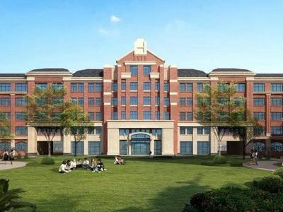 48班制、2400个学位!西海岸这所高颜值高中明年8月竣工
