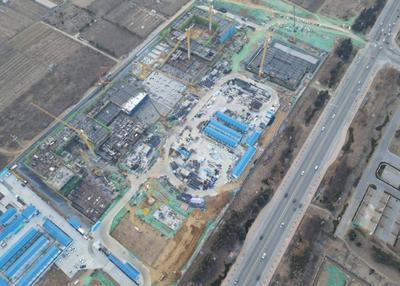 打造胶东半岛教育新高地!青岛新东方双语学校项目主要教学区建筑1月底完成主体封顶