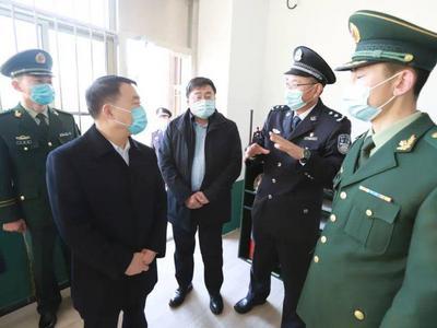 隋汝文到青岛监狱检查工作并慰问一线干警
