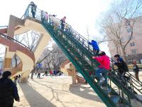 """沧口公园大滑梯:实拍41年前的""""老网红"""""""