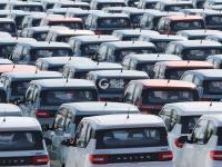 新春开工忙,新能源汽车批量下线