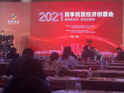 国企首次走上民企创意会平台,2021年首季民营经济创意会举行