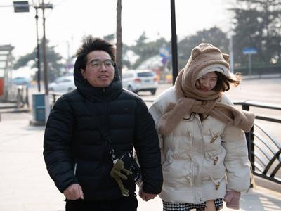 青岛今天最高温17℃!周末最低温跌至零下3℃,大风、降温齐来