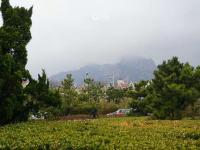 雨雾氤氲!实拍今日石老人海水浴场