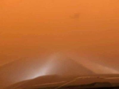 蒙古国暴风雪强沙尘天气已致9人死亡,仍有12人失踪