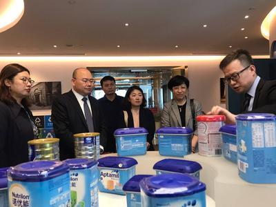 风从海上来 | 赴上海专业实训队参加达能青岛工厂首款婴幼儿配方奶粉上市仪式
