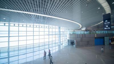 敞亮!体验青岛胶东国际机场首次登机之旅