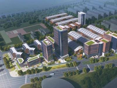 最新!青岛未来科技产业园高层工业楼宇规划及建筑方案公示