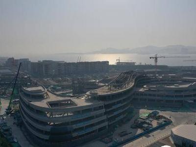 """中央美术学院青岛校区建设最新进展:""""莫比乌斯环""""即将正式""""闭环""""!"""
