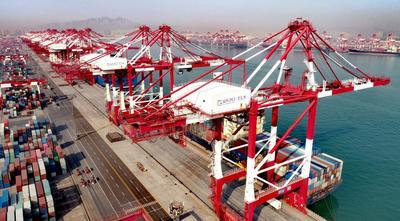 开门红!山东港口一季度完成货物吞吐量3.7亿吨