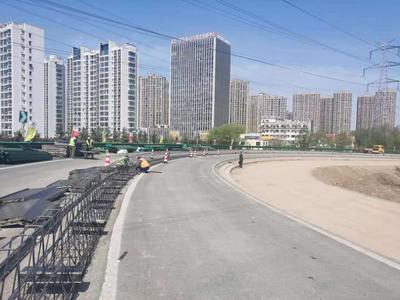 """最新!青银高速李村收费站""""解堵""""工程已完成三成,6月中旬通车"""