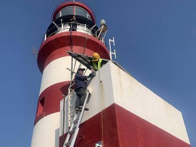 开通4G基站,百年千里岩岛不再与世隔绝!黄海海域首条海上高速宽带网建成