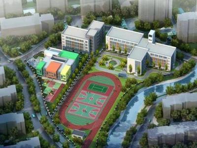 最新!浮山后三小区配套学校项目已完成主体结构施工