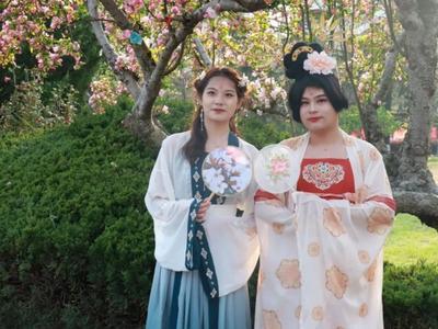 百年如朝,海棠依旧!青岛大学首届花朝节献礼建党百年!
