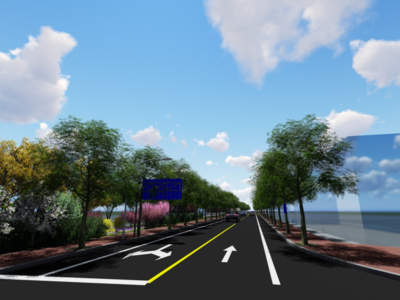 有望年底通车!青岛高新职业学校南侧道路(规划八路)今年将启动建设