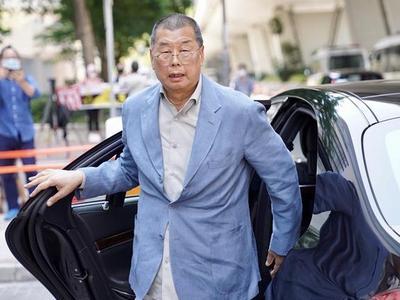 黎智英壹传媒股份及个人资产被冻结,或超3亿港元