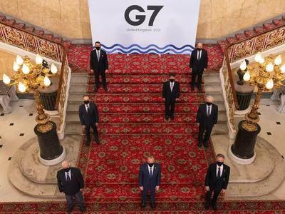 七国集团外长会议结束并发布联合声明,承诺加强疫苗的生产和公平分配