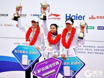 雨战青马,脚下生风!全程组男女冠军双双打破青岛马拉松国内赛会纪录