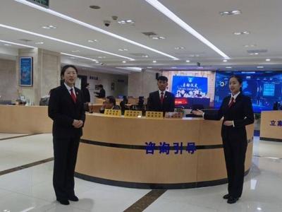 """青岛市中级人民法院诉讼服务中心全新亮相,实现""""一站式""""诉讼服务"""