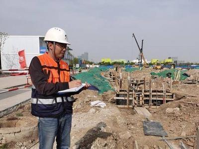 青岛高测高精密数控装备产业化项目建设者:用汗水致敬劳动节