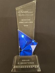 青岛银行海盈系列证券化产品荣获业内大奖