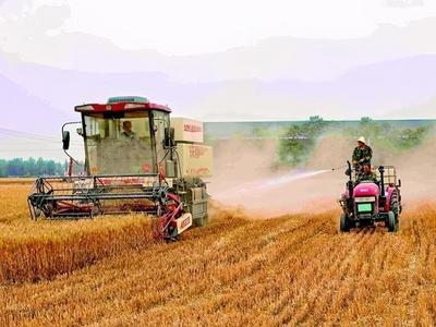 观海快评 | 农民割麦子得花钱喷淋降尘,还能接点地气吗?