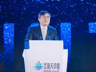 青岛国信集团董事长王建辉:把海天中心打造成为青岛面向世界的城市会客厅