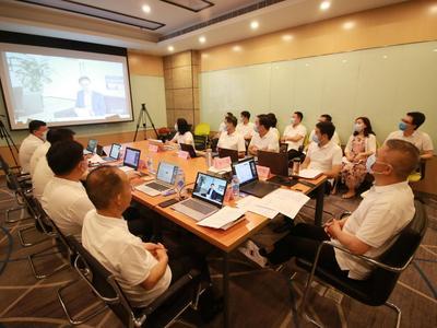 风从鹏城来 | 第六批体悟实训队举办青深企业家线上联谊