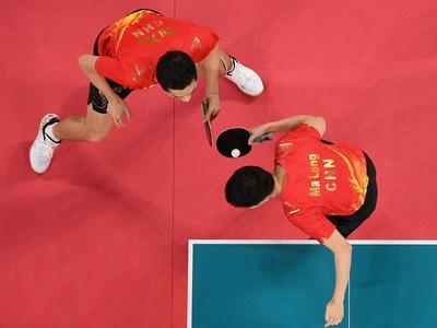 3:0完胜韩国队,中国男乒晋级东京奥运会男团决赛!