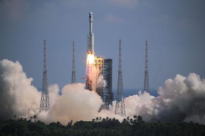 青岛科技助力天舟三号发射取得圆满成功