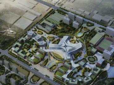 建成后可容纳在校生1万人!对外经贸大学青岛国际校区一期项目启动区10月完工