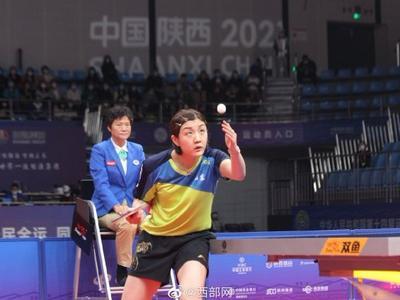 0:4不敌国家队队友王曼昱,青岛名将陈梦无缘十四运乒乓球女单决赛