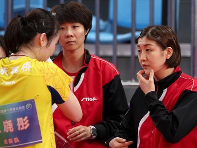 陈梦领衔山东女团晋级八强,三战全胜背后却步步惊心