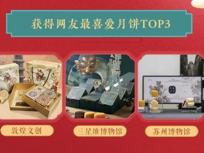 """故宫、三星堆、敦煌……今年中秋,文创月饼""""火出圈""""了"""