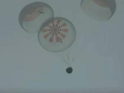 """SpaceX首次""""全平民""""太空""""旅行团""""成功返回地球"""