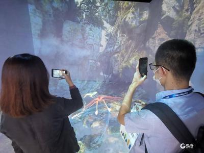 市南区沉浸式体验展区亮相青岛国际软博会,打造观展新体验