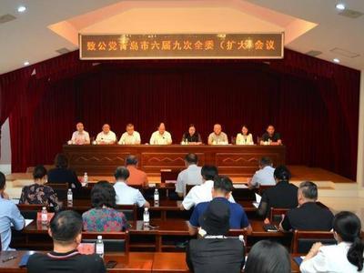 致公党青岛市六届九次全委(扩大)会议召开